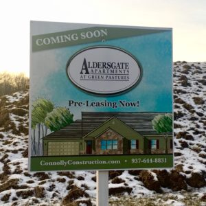 Aldersgate Billboard design