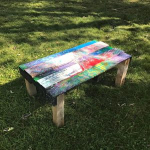 New Table 23x42x16.5h