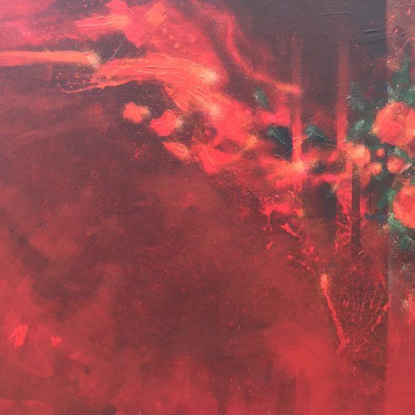 """60"""" x 36"""" Acrylic on Canvas"""