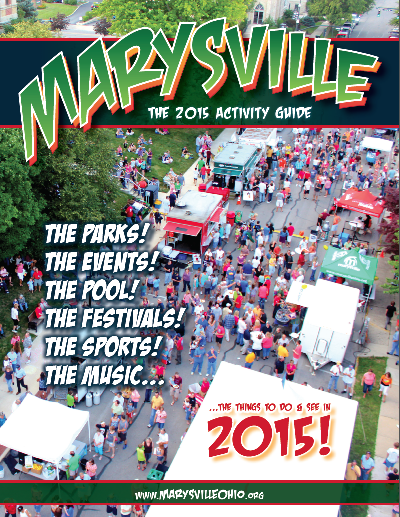 Marysville Ohio 2015 Activity Guide